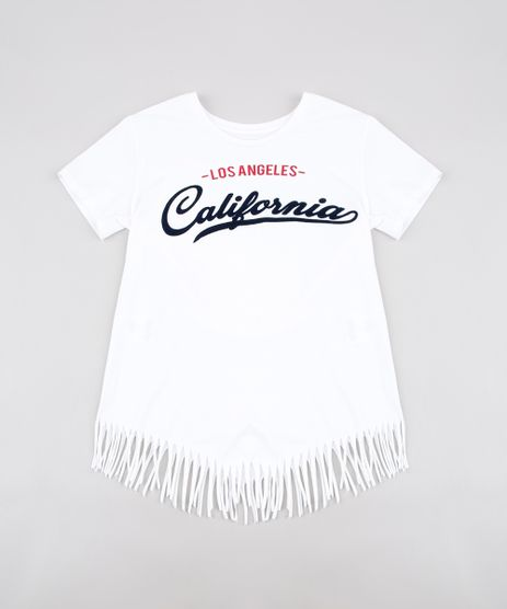 Blusa-Infantil--California--com-Franjas-Manga-Curta--Off-White-9635649-Off_White_1