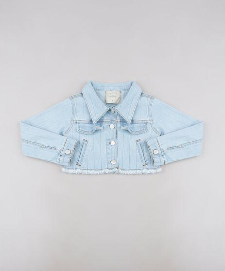 Jaqueta-Jeans-Infantil-Cropped-com-Bolsos-Azul-Claro-9636033-Azul_Claro_1