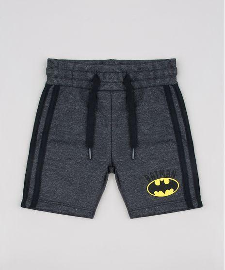 Bermuda-Infantil-Batman-em-Moletom-com-Faixa-Lateral-Cinza-Mescla-Escuro-9618722-Cinza_Mescla_Escuro_1