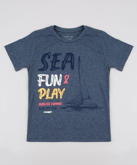 Camiseta-Infantil-Mescla--Sea-Fun---Play--Manga-Curta--Azul-9625124-Azul_1
