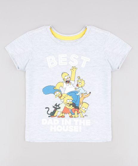 Camiseta-Infantil-Tal-Pai-Tal-Filho-Os-Simpsons-Manga-Curta--Cinza-Mescla-Claro-9647186-Cinza_Mescla_Claro_1