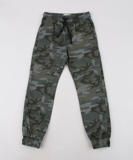 Calca-de-Sarja-Infantil-Jogger-Estampada-Camuflada-Verde-Militar-9636920-Verde_Militar_1