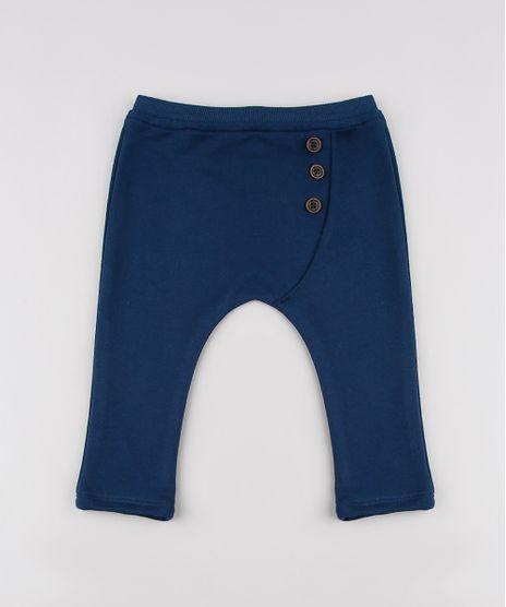Calca-Infantil-Saruel-em-Moletom-com-Botoes-Azul-Marinho-9635883-Azul_Marinho_1