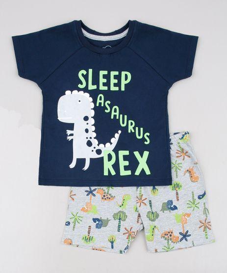 Pijama-Infantil-Dinossauro-Manga-Curta-Azul-Marinho-9629797-Azul_Marinho_1