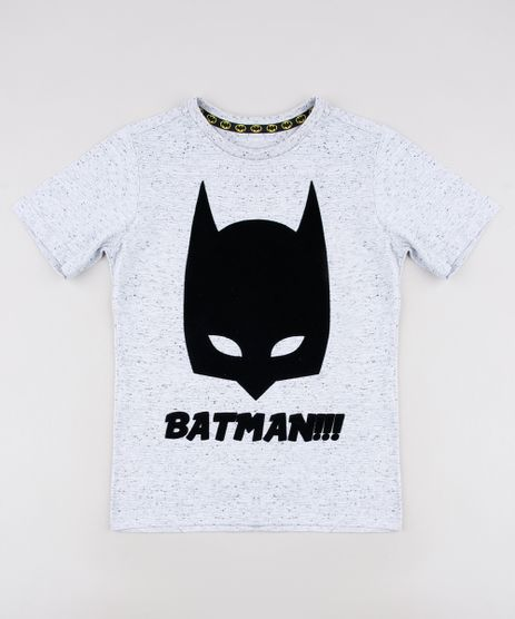 Camiseta-Infantil-Batman-Manga-Curta--Cinza-Mescla-9519297-Cinza_Mescla_1