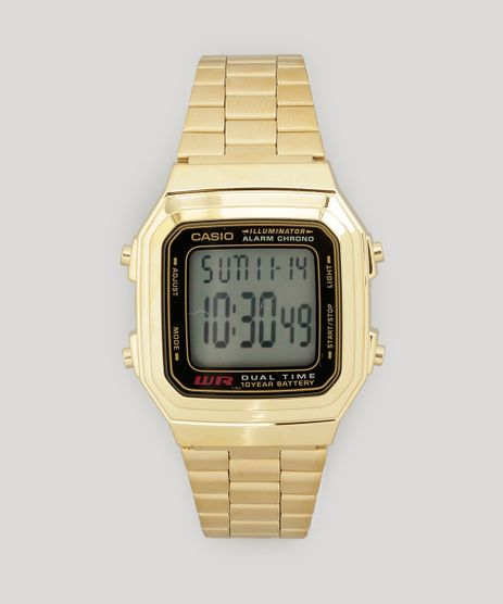 Relogio-Digital-Casio-Feminino---A178WGA1ADFU--Dourado-7731553-Dourado_1