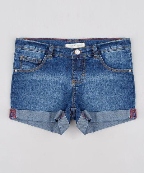 Short-Jeans-Infantil-com-Bolsos-Barra-Dobrada-Azul-Medio-9615017-Azul_Medio_1