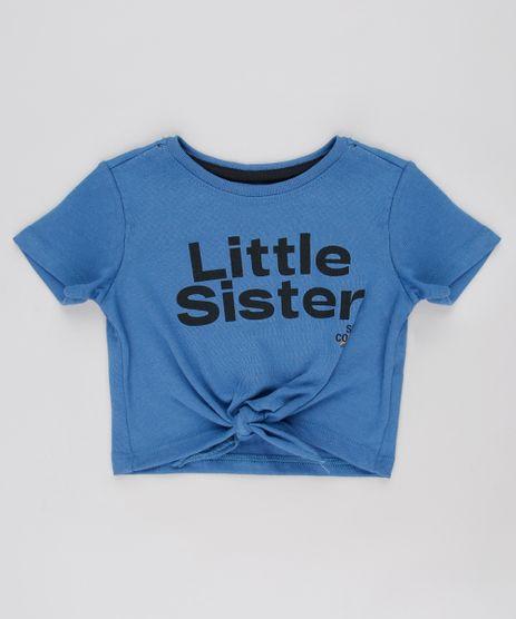 Blusa-Infantil-Tal-Pai-Tal-Filha--Little-Sister--com-No-Manga-Curta-Azul-9650495-Azul_1