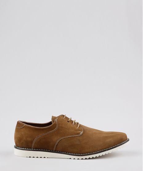 Sapato-Masculino-Oneself-em-Couro-com-Cadarco-Marrom-9673761-Marrom_1