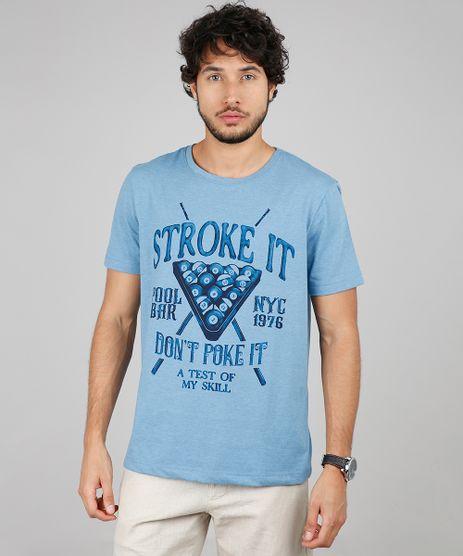 Camiseta-Masculina-Comfort-Fit--Stroke-It--Manga-Curta-Gola-Careca-Azul-9592588-Azul_1