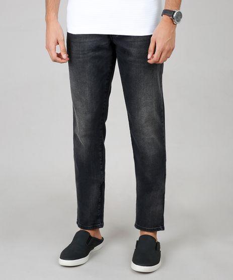 Calca-Jeans-Masculina-Slim-Preta-9633225-Preto_1