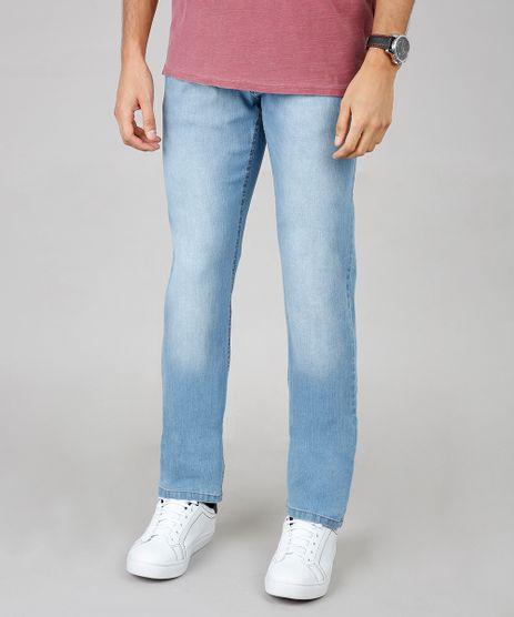 Calca-Jeans-Masculina-Reta--Azul-Claro-9594124-Azul_Claro_1