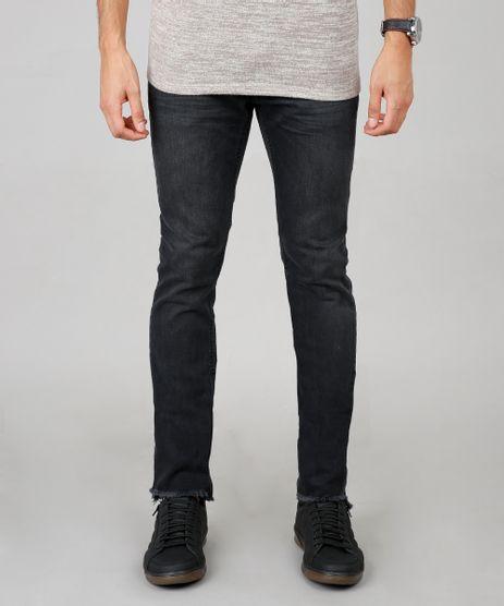 Calca-Jeans-Masculina-Skinny-Preta-9595650-Preto_1
