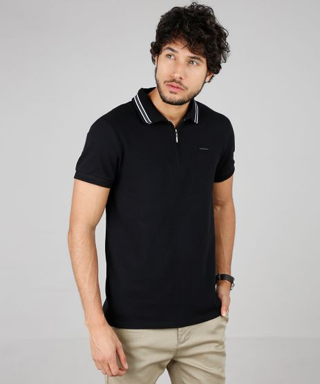 Polo-Masculina-Slim-Fit-em-Piquet-com-Ziper-Multicor-9600933-Multicor_1