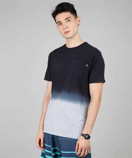 Camiseta-Masculina-Degrade-com-Bolso-Manga-Curta-Gola-Careca-Preta-9608664-Preto_1