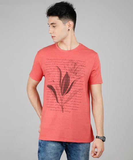 Camiseta-Masculina-Texto-Manga-Curta-Gola-Careca-Coral-9645375-Coral_1