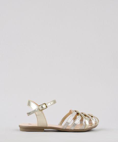 Sandalia-Infantil-com-Tiras-Cruzadas-Dourada-9672615-Dourado_1