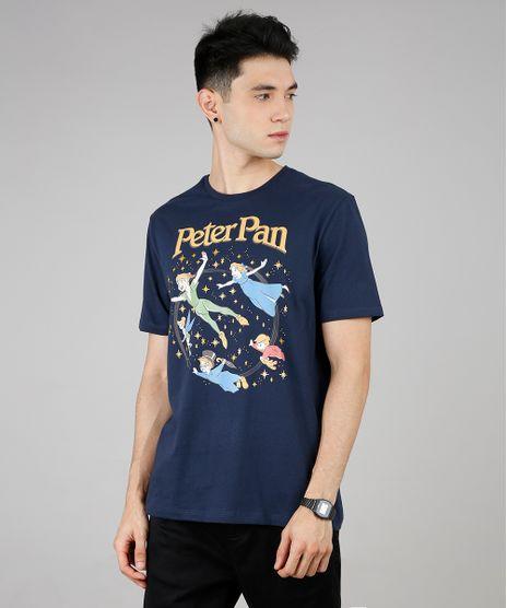 Camiseta-Masculina-Peter-Pan-Manga-Curta-Gola-Careca-Azul-Marinho-9687483-Azul_Marinho_1