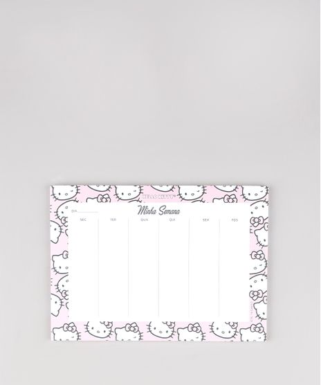 Bloco-Planner-Semanal-Hello-Kitty-17cm-x-24cm-Branco-9654122-Branco_1