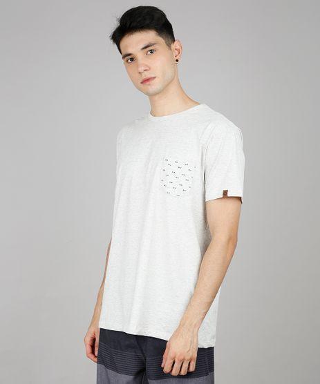 Camiseta-Masculina-com-Bolso-Estampado-de-Peixes-Manga-Curta-Gola-Careca-Cinza-Mescla-9636217-Cinza_Mescla_1