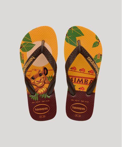 Chinelo-Infantil-Havaianas-Top-Rei-Leao-Amarelo-Escuro-9644754-Amarelo_Escuro_1