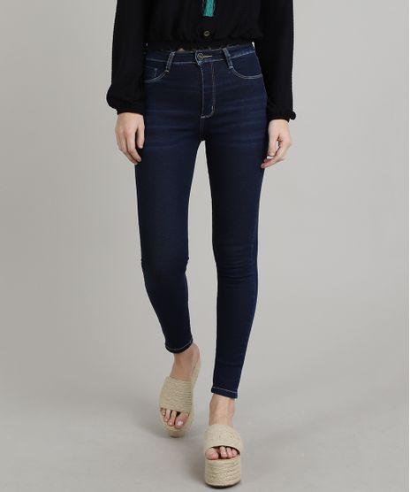 Calca-Jeans-Feminina-Sawary-Super-Lipo-Super-Skinny--Azul-Escuro-9671807-Azul_Escuro_1