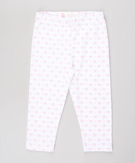 Calca-Legging-Infantil-Estampada-de-Coroas-Branca-9584497-Branco_1