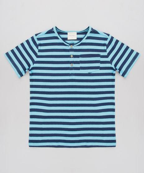 Camiseta-Infantil-Listrada-Manga-Curta-Gola-Portuguesa--Azul-9546118-Azul_1