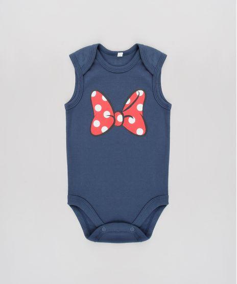 Body-Infantil-Minnie-Sem-Manga-Azul-Marinho-9190293-Azul_Marinho_1