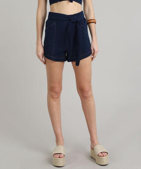 Short-Feminino-Hot-Pants-Texturizado-Azul-Marinho-9534418-Azul_Marinho_1