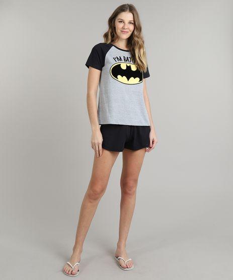 Pijama-Feminino-Tal-Mae-Tal-Filhos-Batgirl-Raglan-Manga-Curta-Cinza-Mescla-9626325-Cinza_Mescla_1