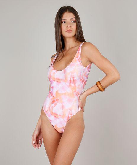 Maio-Body-Estampado-Tie-Dye-com-Bojo-Protecao-UV50--Coral-9639434-Coral_1