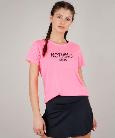 Blusa-Feminina-Esportiva-Ace--Nothing-Special--Manga-Curta-Decote-Redondo-Rosa-Neon-9596224-Rosa_Neon_1