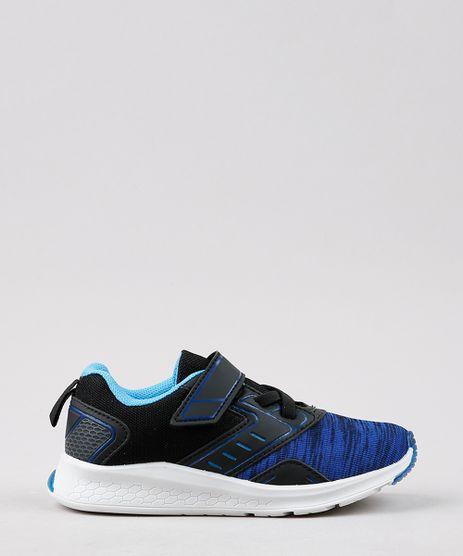 Tenis-Infantil-Esportivo-Running-com-Micro-Furos-e-Velcro-Azul-Marinho-9645231-Azul_Marinho_1