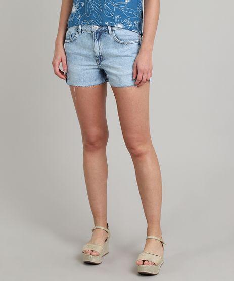 Short-Jeans-Feminino-Boy-com-Fenda-Azul-Claro-9573595-Azul_Claro_1