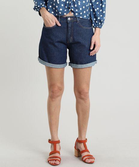 Bermuda-Jeans-Feminina-Midi-Barra-Dobrada-Azul-Escuro-9664036-Azul_Escuro_1