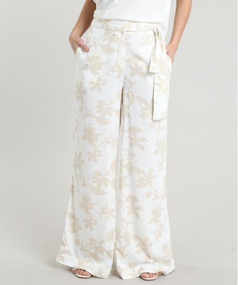 Calca-Feminina-Pantalona-Estampada-Floral-com-Amarracao--Off-White-9535713-Off_White_1