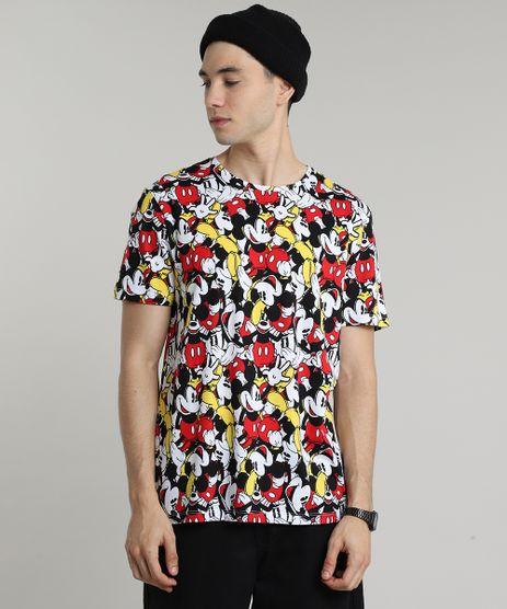 Camiseta-Masculina-Mickey-Mouse-Estampada-Manga-Curta-Gola-Careca-Branca-9597337-Branco_1
