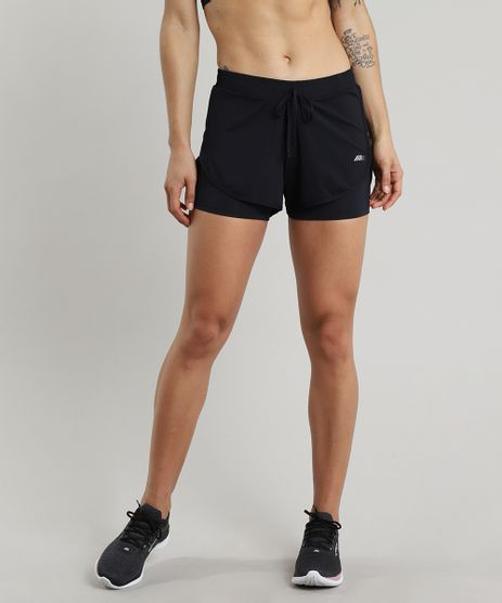 Short-Feminino-Running-Esportivo-Ace-com-Sobreposicao-Preto-9643824-Preto_1