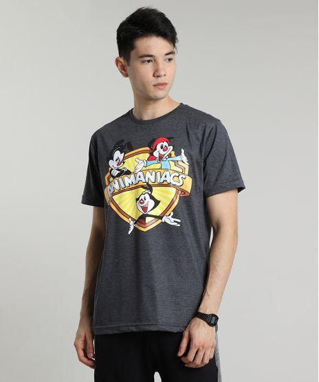 Camiseta-Masculina-Animaniacs-Manga-Curta-Gola-Careca-Cinza-Mescla-Claro-9677147-Cinza_Mescla_Claro_1