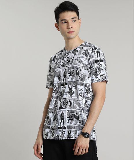 Camiseta-Masculina-Homem-Aranha-Estampada-Quadrinhos-Manga-Curta-Gola-Careca-Off-White-9597452-Off_White_1