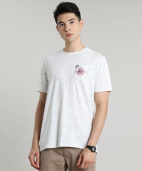 Camiseta-Masculina-com-Bolso-Estampado-de-Folhagem-Manga-Curta-Gola-Careca-Off-White-9628965-Off_White_1