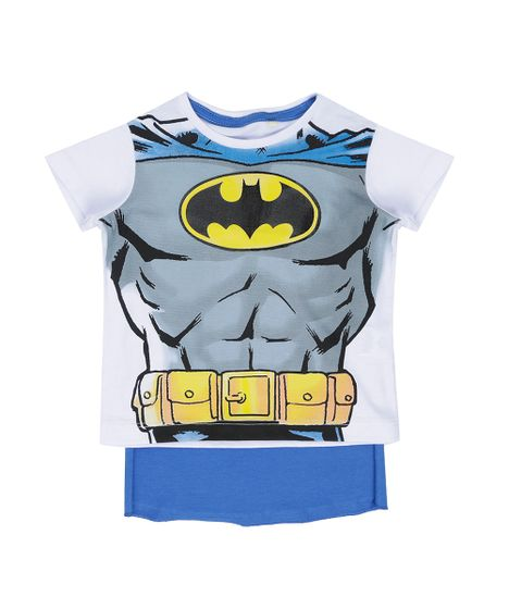 Camiseta-Batman-com-Capa-Branca-8523281-Branco 1 ... 46b2c00801b5a