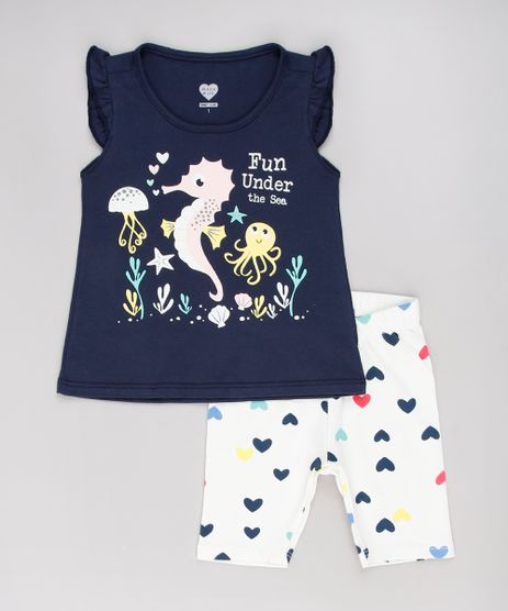 Conjunto-Infantil-de-Regata--Fun-Under-the-Sea--com-Babado---Bermuda-Estampada-Azul-Marinho-9631434-Azul_Marinho_1