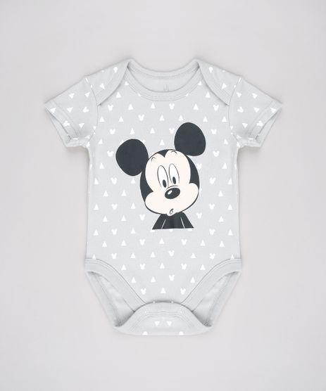 Body-Infantil-Mickey-Estampado-Geometrico-Manga-Curta-Cinza-Claro-9584527-Cinza_Claro_1