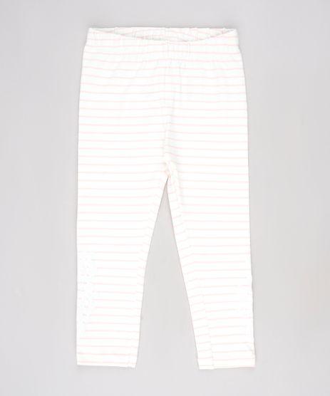 Calca-Legging-Infantil-Listrada-com-Flores-Off-White-9636896-Off_White_1