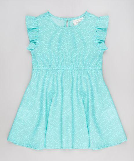 Vestido-Infantil-Estampado-de-Poa-Sem-Manga-Verde-9515361-Verde_1