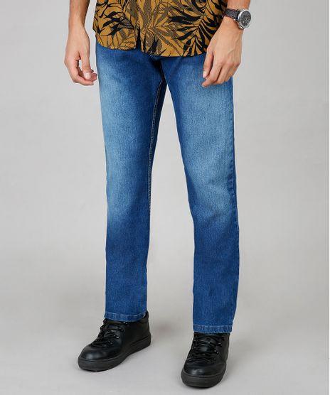 Calca-Jeans-Masculina-Reta--Azul-Medio-9599229-Azul_Medio_1