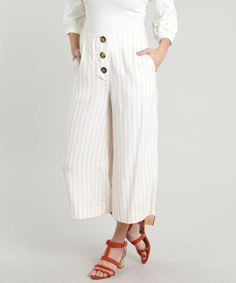 Calca-Feminina-Pantacourt-Listrada-com-Botoes-e-Bolsos-Off-White-9535294-Off_White_1