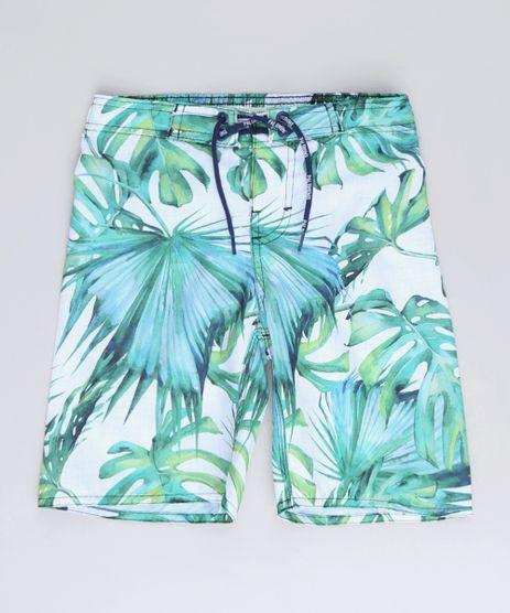 Bermuda-Surf-Infantil-Estampada-de-Folhagem-com-Bolso-Off-White-9653099-Off_White_1